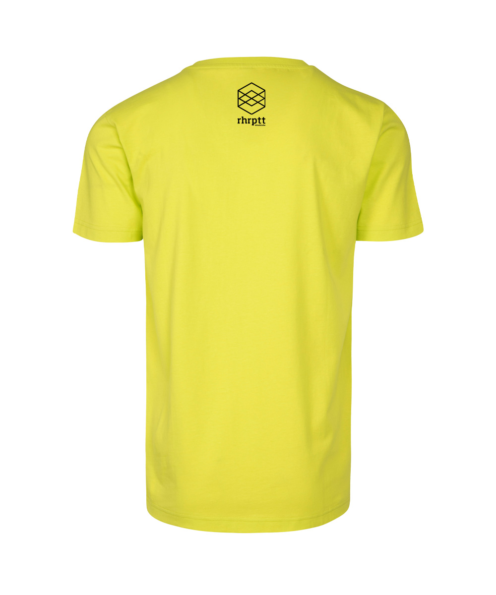 rhrptt t-shirt frozen yellow rundmc hinten