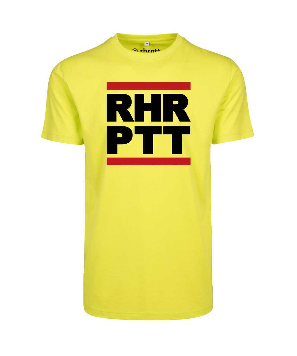 rhrptt t-shirt frozen yellow rundmc vorne gross
