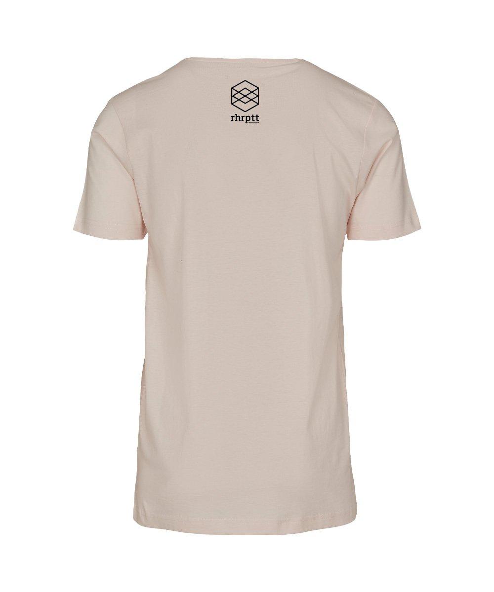 rhrptt t-shirt son of rhrptt pink-marshmallow brandlogo hinten