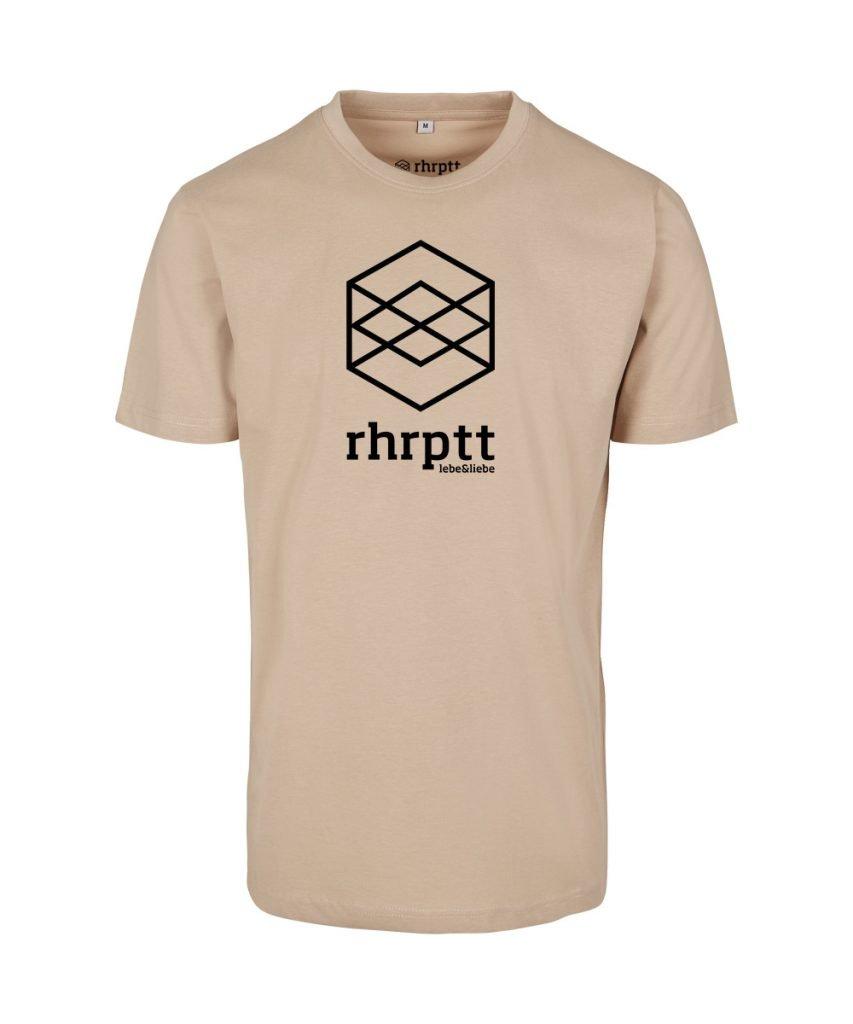 rhrptt t-shirts lebe und liebe rhrptt sand gross vorne
