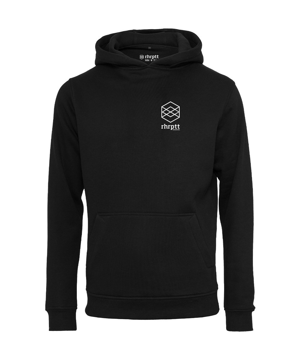 rhrptt hoodie lebe liebe rhrptt klein schwarz black