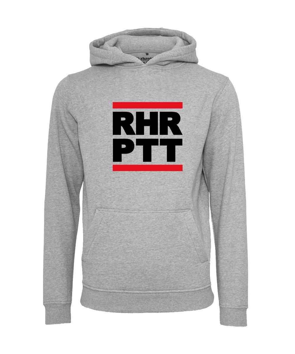 rhrptt hoodie runddmc gross heather grey grau meliert