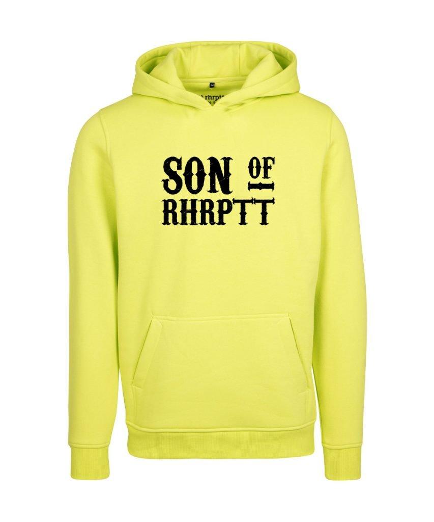 rhrptt hoodie son of rhrptt gross frozen yellow gelb