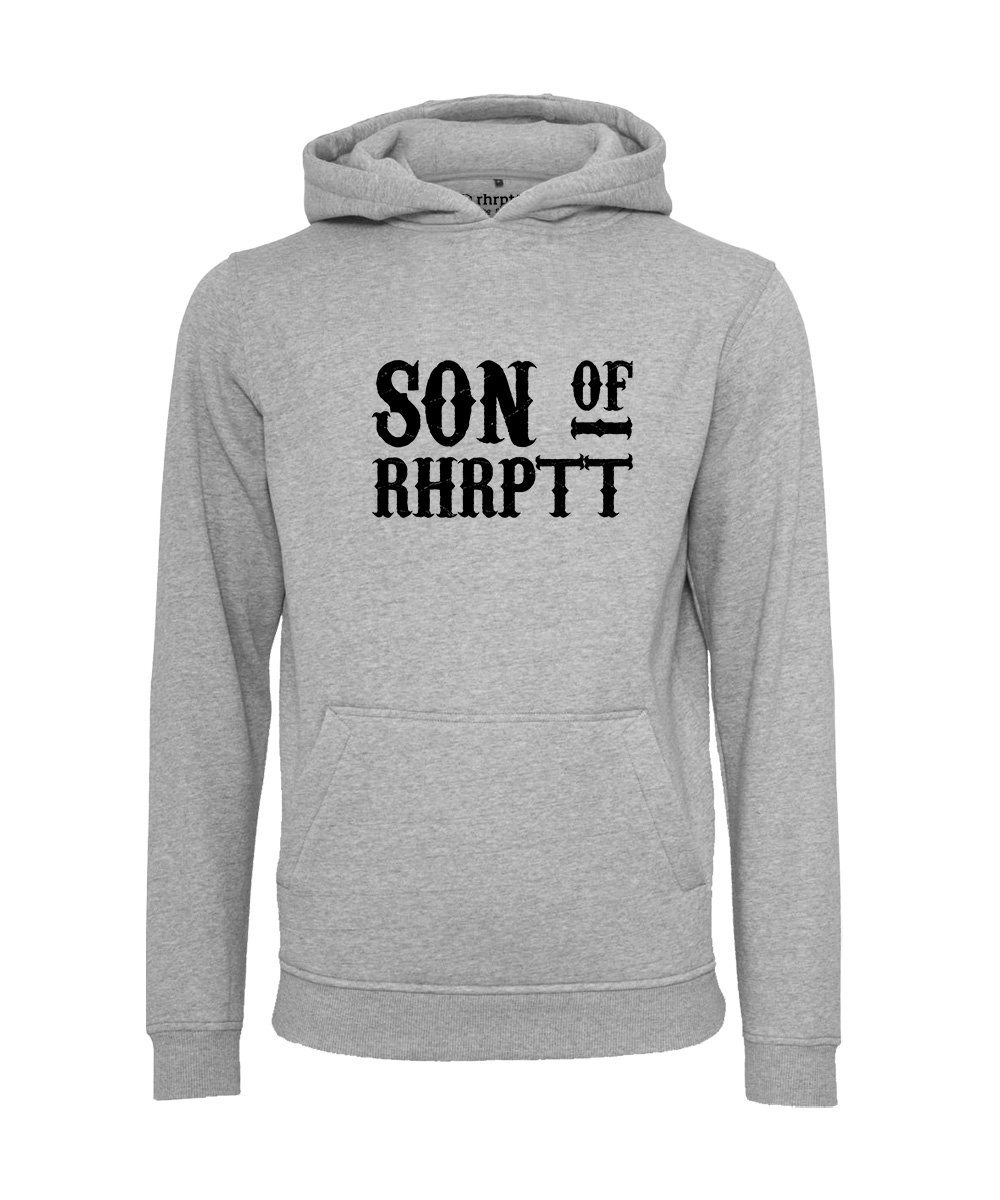 rhrptt hoodie son of rhrptt gross heather grey grau